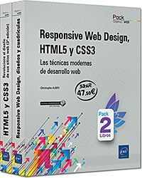 RESPONSIVE WEB DESIGN, HTML5 Y CSS3 (PACK 2 LIBROS)