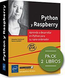 PYTHON Y RASPBERRY. PACK DE 2 LIBROS: APRENDA A DESARROLLAR EN PYTHON PARA SU NA