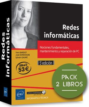 REDES INFORMATICAS PACK 2 LIBROS