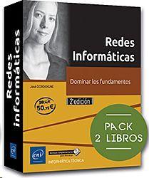 REDES INFORMATICAS PACK 2 LIBROS DOMINAR LOS FUNDAMENTOS 2