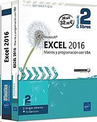 EXCEL 2016 - PACK DE 2 LIBROS