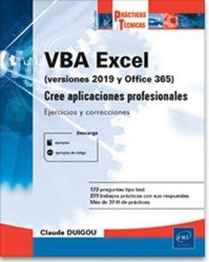 VBA EXCEL (VERSIONES 2019 Y OFFICE 365)