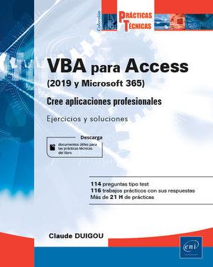 VBA PARA ACCESS (2019 Y MICROSOFT 365). CREE APLIC