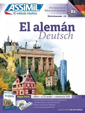 EL ALEMAN DEUTSCH ALUMNO SUPERPACK (NIVEL B2)