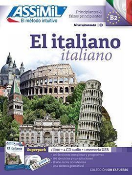 EL ITALIANO ASSIMIL ALUMNO LIBRO+4CD+USB SUPERPACK