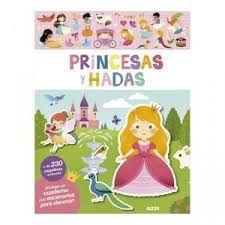 MI PRIMER LIBRO DE PEGATINAS: PRINCESAS Y HADAS
