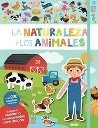 MI PRIMER LIBRO DE PEGATINAS: LA NATURALEZA Y LOS ANIMALES
