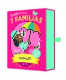 ANIMALES. JUEGO DE LAS 7 FAMILIAS