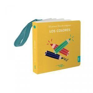 LIBRO COLGADOR CUNA LOS COLORES.