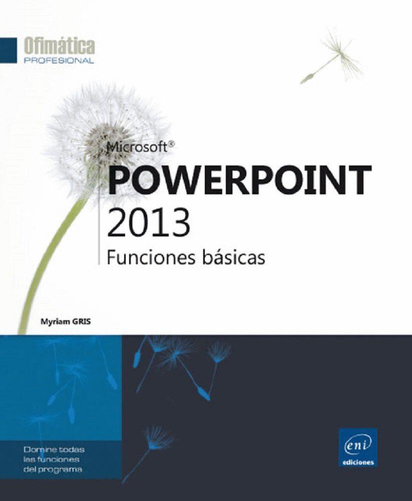 POWERPOINT 2013-FUNCIONES BASICAS