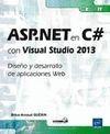 ASP.NET EN C#  CON VISUAL STUDIO 2013