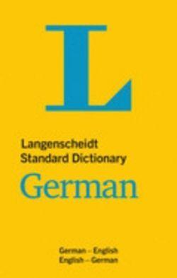 STANDARD DICTIONARY GERMAN. ENGLISH-GERMAN / GERMAN-ENGLISH