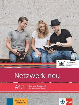 NETZWERK NEU A1.1, LIBRO DEL ALUMNO Y LIBRO DE EJERCICIOS, PARTE 1