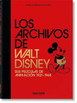 LOS ARCHIVOS DE WALT DISNEY: SUS PELÍCULAS DE ANIMACIÓN 1921-1968