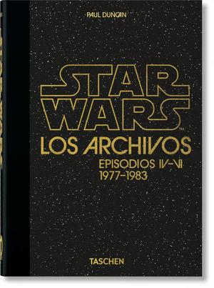 LOS ARCHIVOS DE STAR WARS. EPISODIOS IV-VI (1977-1983)