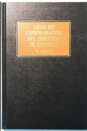 LISTA DE COMPROBACION DEL DIRECTOR DE EMPRESA