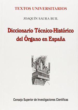DICCIONARIO TÉCNICO-HISTÓRICO DEL ÓRGANO EN ESPAÑA