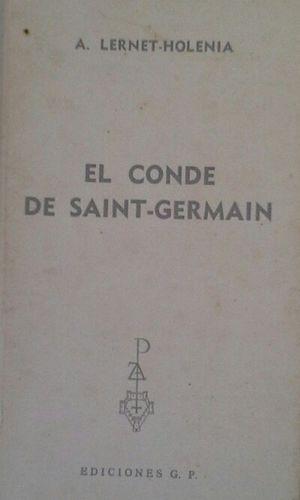 EL CONDE DDE SAINT-GERMAIN