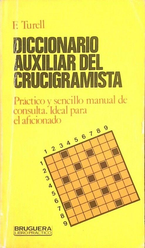 DICCIONARIO AUXILIAR DEL CRUCIGRAMISTA