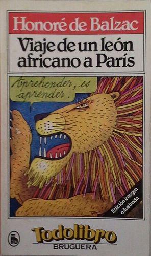 VIAJE DE UN LEÓN AFRICANO Y OTROS CUENTOS