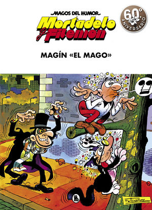 MAGOS DEL HUMOR MORTADELO Y FILEMON Nº 17: MAGIN EL MAGO
