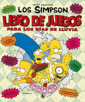 LOS SIMPSON. LIBRO DE JUEGOS PARA LOS DIAS DE LLUVIA