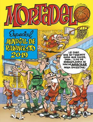 MORTADELO ESPECIAL MUNDIAL BALONCESTO 2019