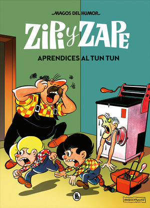 ZIPI Y ZAPE 27: APRENDICES AL TUN TUN (MAGOS DEL HUMOR)