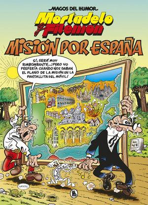 MORTADELO MAGOS DEL HUMOR 208: MISIÓN POR ESPAÑA