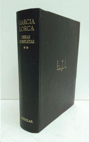 OBRAS COMPLETAS II  GARCIA LORCA