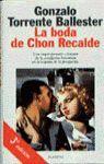 LA BODA DE CHON RECALDE