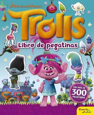 TROLLS. LIBRO DE PEGATINAS