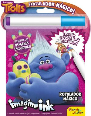 TROLLS. ROTULADOR MAGICO (IMAGINE INK)