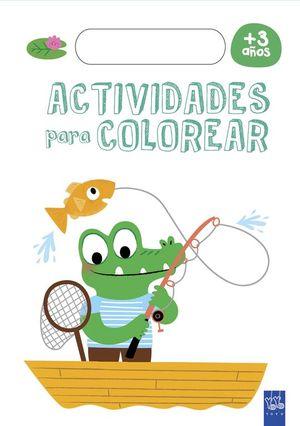 ACTIVIDADES PARA COLOREAR +3 AÑOS