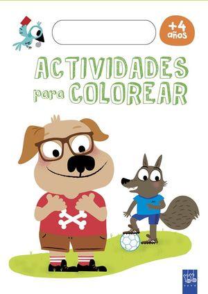 ACTIVIDADES PARA COLOREAR +4 AÑOS