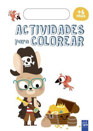 ACTIVIDADES PARA COLOREAR +6