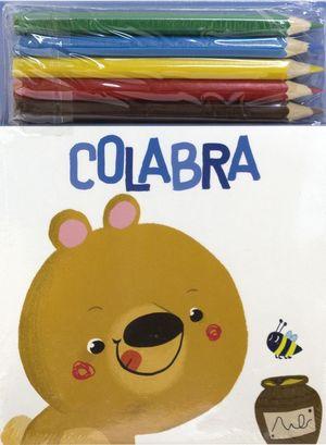 COLABRA. OSO (+ 5 LAPICES DE COLORES)