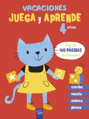 VACACIONES JUEGA Y APRENDE 4 AÑOS