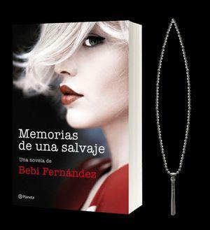 MEMORIAS DE UNA SALVAJE (PACK NAVIDAD SRTA. BEBI + COLGANTE)