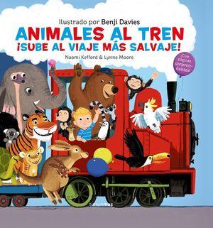 ANIMALES AL TREN. SUBE AL VIAJE MAS SALVAJE