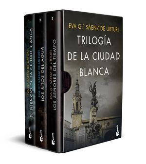 ESTUCHE TRILOGÍA DE LA CIUDAD BLANCA (CAJA 3 VOLUMENES)