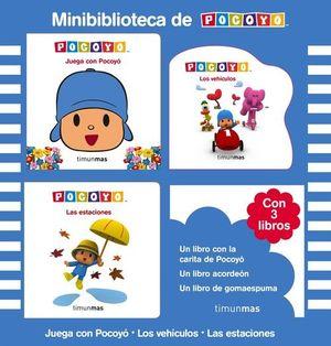 MINIBIBLIOTECA DE POCOYÓ (ESTUCHE CON 3 LIBROS)