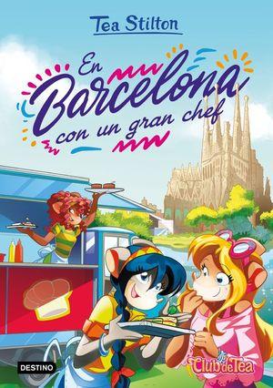 TEA STILTON 40. EN BARCELONA CON UN GRAN CHEF