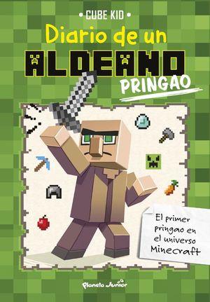 MINECRAFT. DIARIO DE UN ALDEANO PRINGAO (PACK + GORRA)