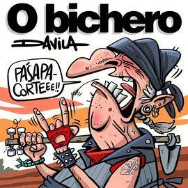 O BICHERO VIII: PASA PA CORTE!