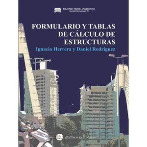 FORMULARIO Y TABLAS DE CALCULO DE ESTRUCTURAS