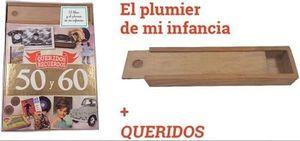 PACK QUERIDOS RECUERDOS DE LOS AÑOS 50 Y 60 (+ PLUMIER DE MI INFANCIA)