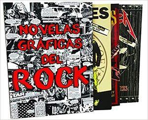 ESTUCHE NOVELAS GRÁFICAS DEL ROCK