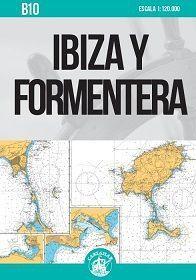 CARTA NAUTICA B10. IBIZA Y FORMENTERA 2021