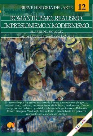 ROMANTICISMO, REALISMO, IMPRESIONISMO Y MODERNISMO. EL ARTE DEL S.XIX